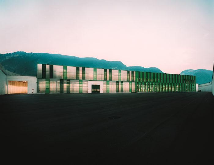 Studio Azzali Trento Complesso industriale Melinda